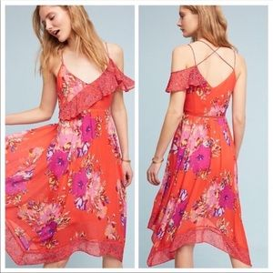 NWOT Anthropologie | Maeve Grecia Floral Dress